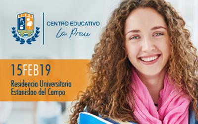 "VIII Encuentro ""CON TU FUTURO"" destinado a alumnos de bachillerato"