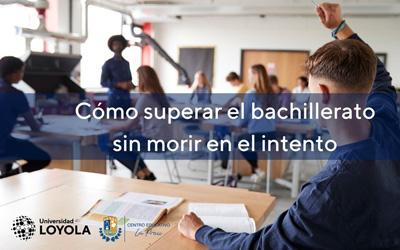 Jornada de acogida a nuestros alumnos de Bachillerato